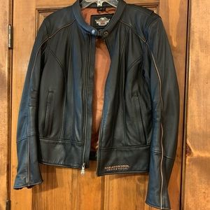 Harley Davidson 105th Anniversary leather jacket.